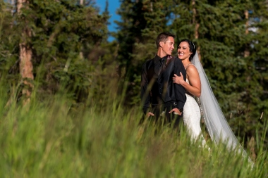 Gretchen and Ryan's wedding at Timber Ridge on Keystone Mountain